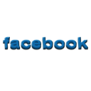 spelled, out, Facebook Black icon