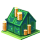 Mortgage DarkSlateGray icon