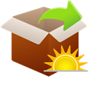 Chang, extract, Today SaddleBrown icon
