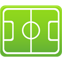 pitch, Football YellowGreen icon