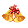 christmas, bell Chocolate icon