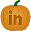 Linkedin Goldenrod icon