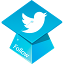 twitter DarkTurquoise icon