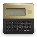 calculator DarkSlateGray icon