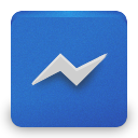 facebookmessenger RoyalBlue icon