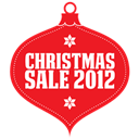 red, sale, christmas Crimson icon