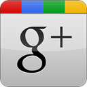 Googleplus, Gloss, grey Gainsboro icon
