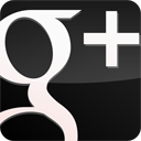 Gloss, Black, Googleplus DarkSlateGray icon