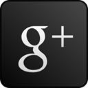 Black, custom, Googleplus DarkSlateGray icon