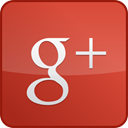 Gloss, Googleplus, red, custom Icon