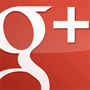 square, Gloss, red, Googleplus IndianRed icon