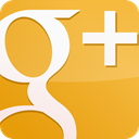 Gloss, yellow, Googleplus Goldenrod icon
