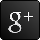 Googleplus, custom, Black DarkSlateGray icon