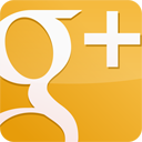 Gloss, Googleplus, yellow Goldenrod icon