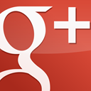 red, Googleplus, Gloss, square IndianRed icon