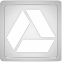 gray, glowing, Box, light, drive, google Gainsboro icon