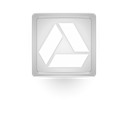 google, light, glow, drive, gray Icon