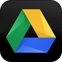 button, original, google, drive Black icon