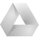 gray, drive, google, light, original LightGray icon