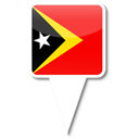 Leste, timor Black icon