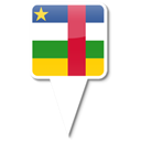 central, African, republic Black icon