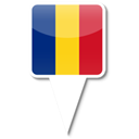 romania Black icon