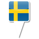 sweden Black icon