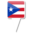 Puerto, rico Black icon
