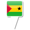 sao, tome, principe Black icon