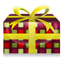 christmas, present, instatuts Black icon