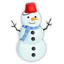 snowman, instatuts Black icon