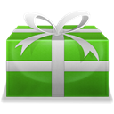 present, instatuts, christmas ForestGreen icon