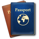 passport MidnightBlue icon