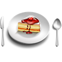 foodplate Black icon