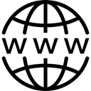 Domain Black icon