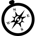safari, brw Black icon