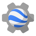 engine, earth DarkGray icon