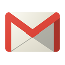 Googlemail Black icon