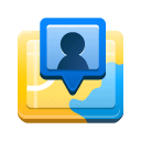 Latitude DodgerBlue icon