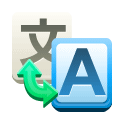 Translate SteelBlue icon