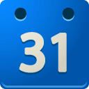 Calendar DodgerBlue icon