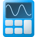 Lb, calculator DodgerBlue icon
