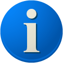 Info DodgerBlue icon