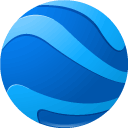 earth DodgerBlue icon