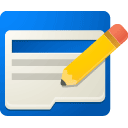 Adwords, editor DodgerBlue icon