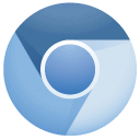 chromium SteelBlue icon
