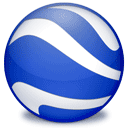 Client, earth RoyalBlue icon