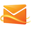 Hotmail Black icon