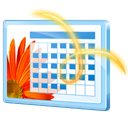 Calendar, Png Black icon