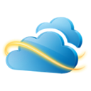 skydrive Black icon